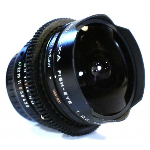 SMC Pentax-A 16mm F2.8 FishEye