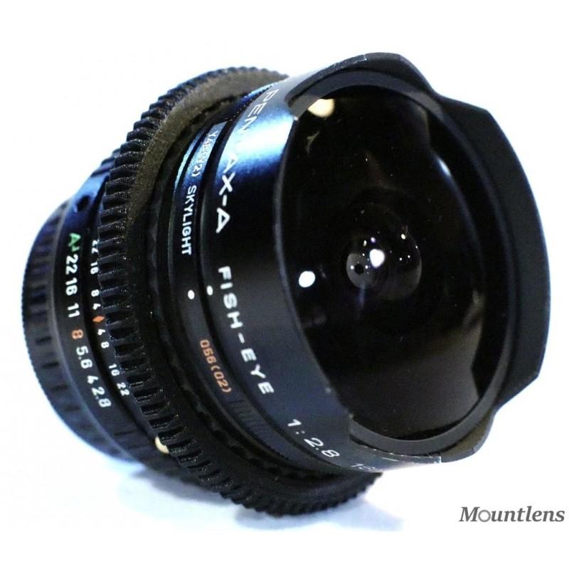 SMC Pentax-A 16mm F2.8 Fish-Eye
