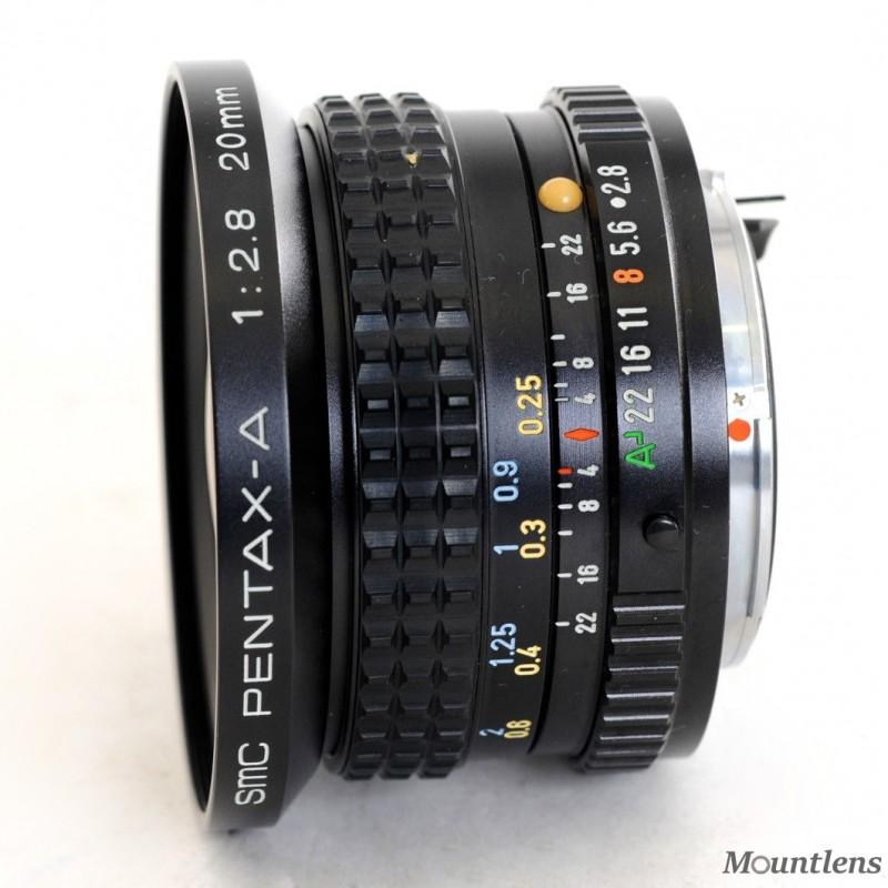 SMC Pentax-A 20mm F2.8