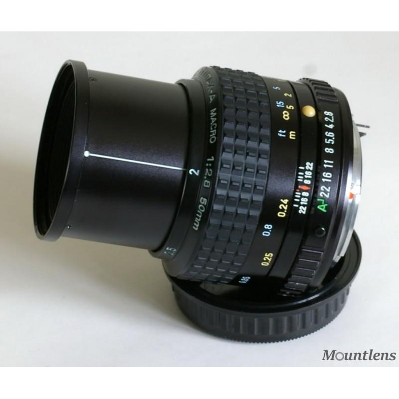 SMC Pentax-A 50mm F2.8 Macro