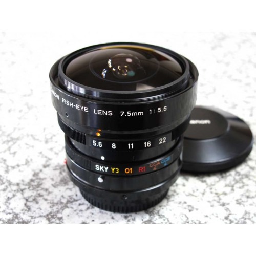 Canon FD Fish-Eye 7.5mm F5.6