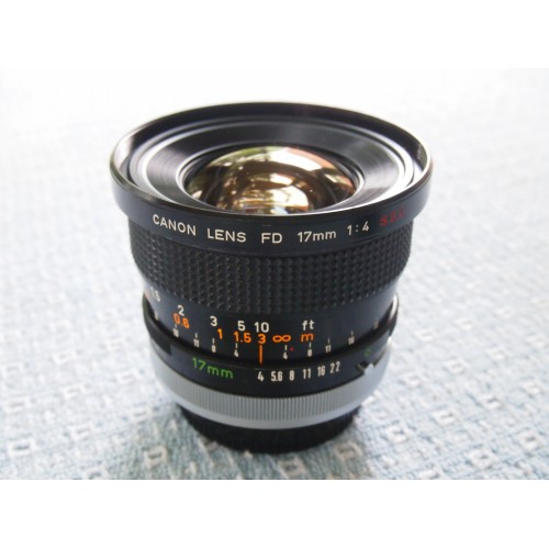 Canon FD 24mm F2 8 - Mountlens