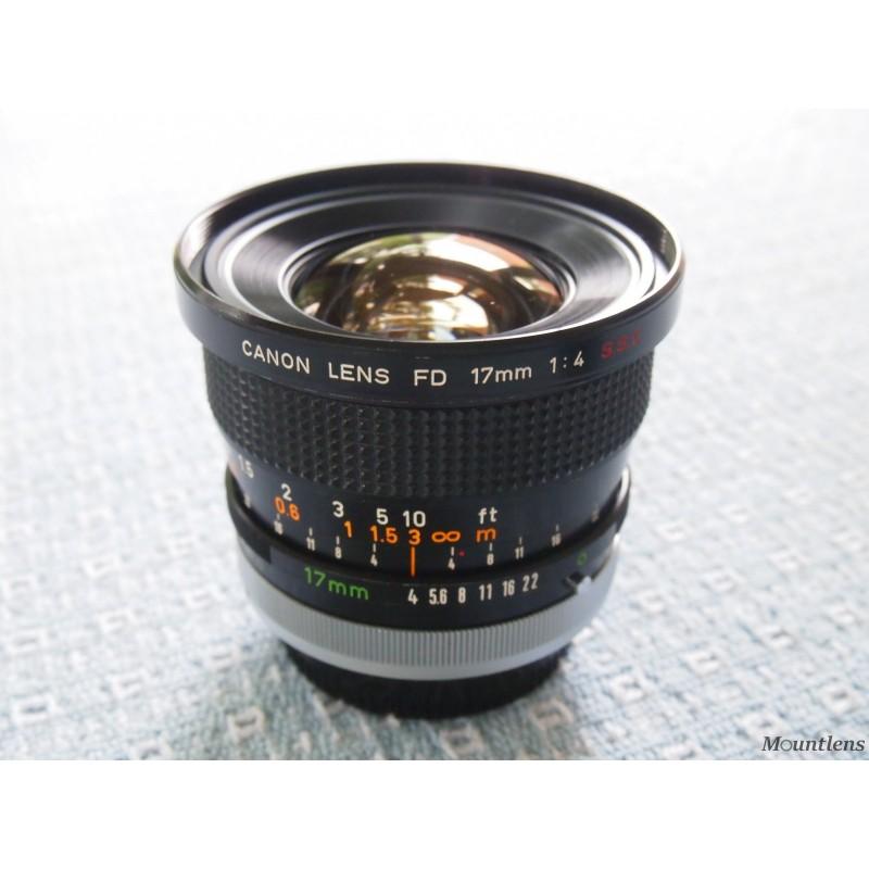 Canon FD 17mm F4
