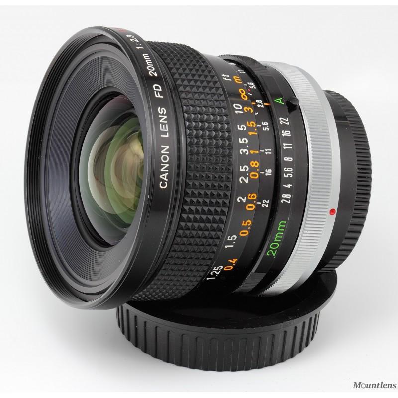 Canon FD 20mm F2.8