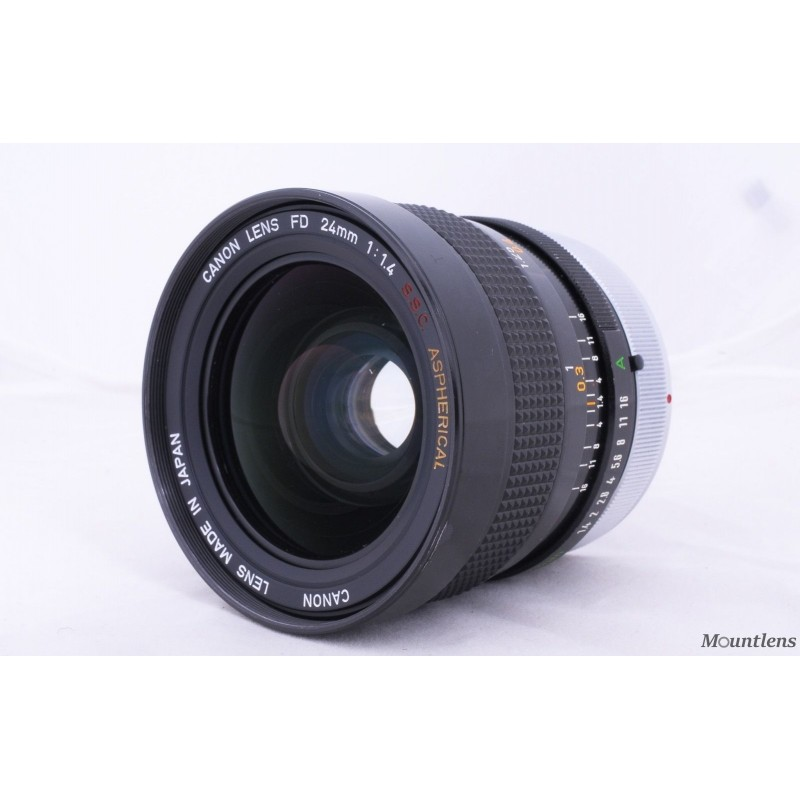 Canon FD 24mm F1.4 SCC Aspherical
