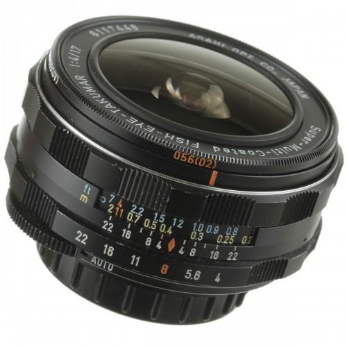 SMC Fish-Eye Takumar 17mm F4
