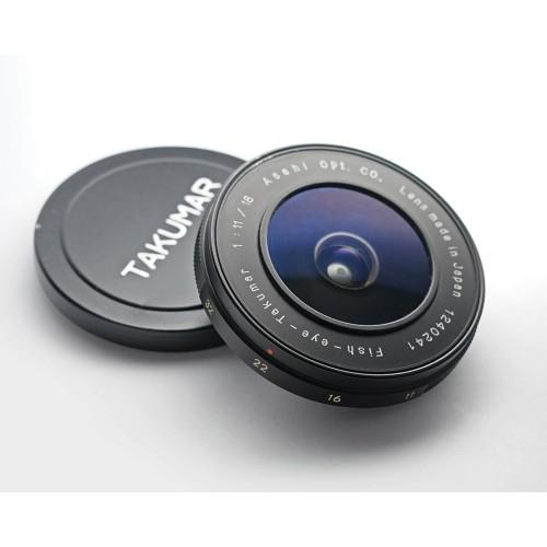 FishEye Takumar 18mm F11