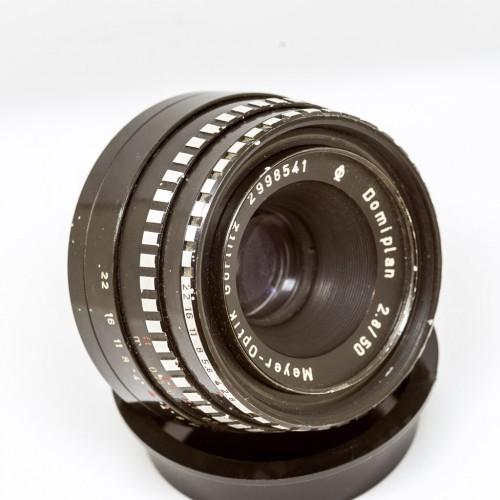 Meyer-Optik Domiplan 50mm F2.8