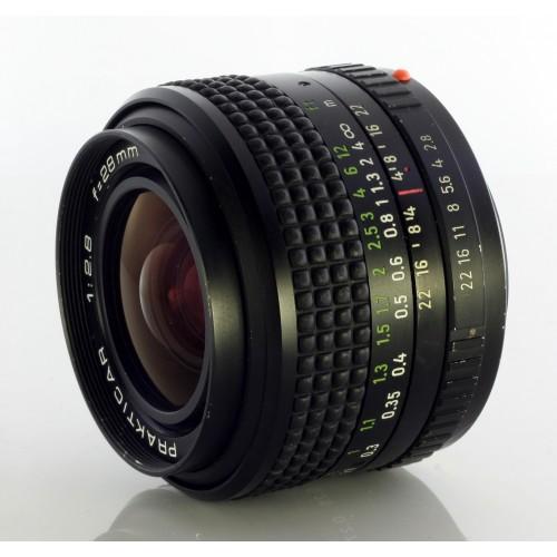 Pentacon Prakticar 28mm F2.8
