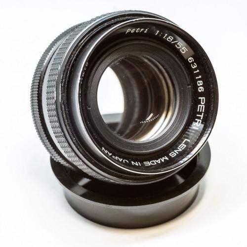 Petri 55mm F1.8
