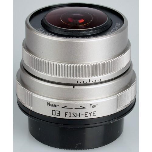 Pentax 03 Ojo de pez 3.2mm F5.6