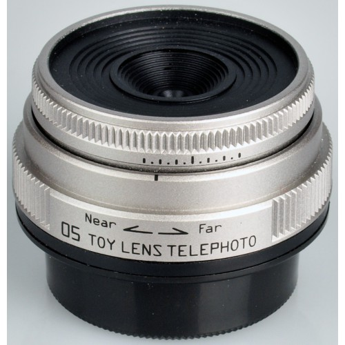 Pentax 05 Lente de juguete Telephoto 18mm F8