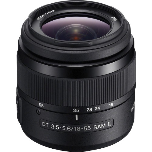 Sony DT 18–55mm F3.5–5.6 SAM II