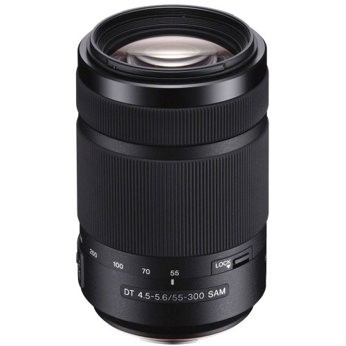 Sony DT 55–300mm F4.5–5.6 SAM