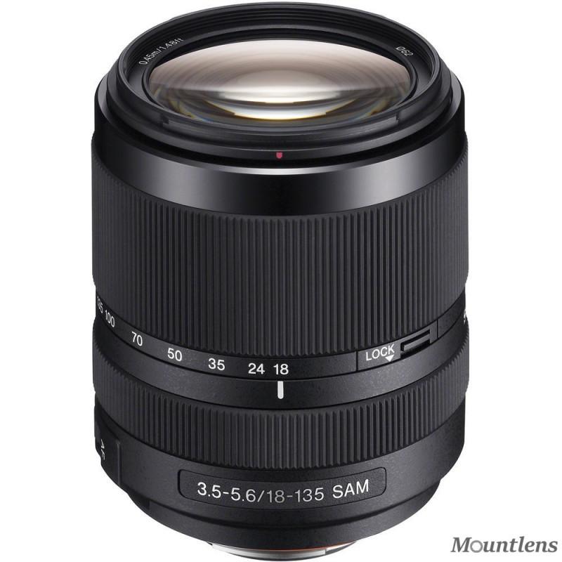 Sony DT 18–135mm F3.5–5.6 SAM