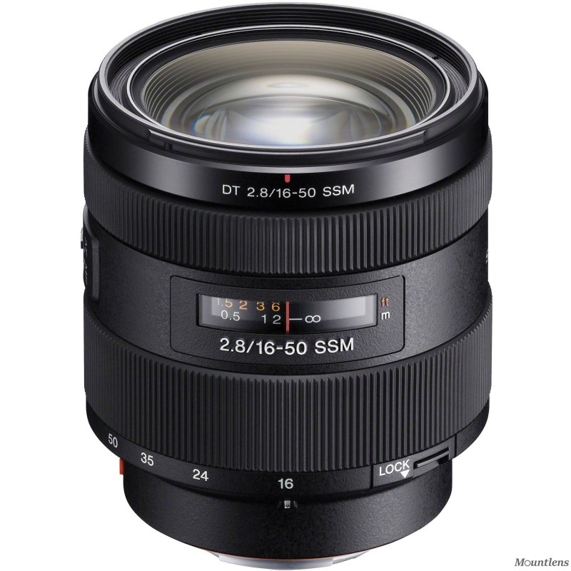 Sony DT 16–50mm F2.8 SSM