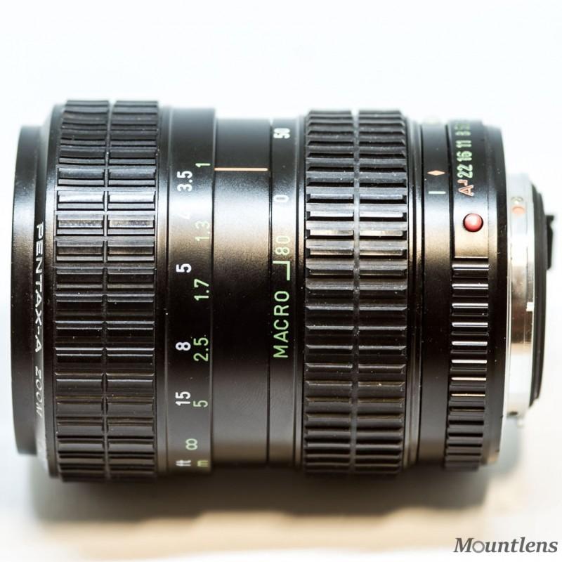 SMC Pentax-A 28-80mm F3.5-4.5