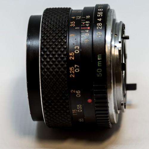 Yashica 50mm DSB F1.9