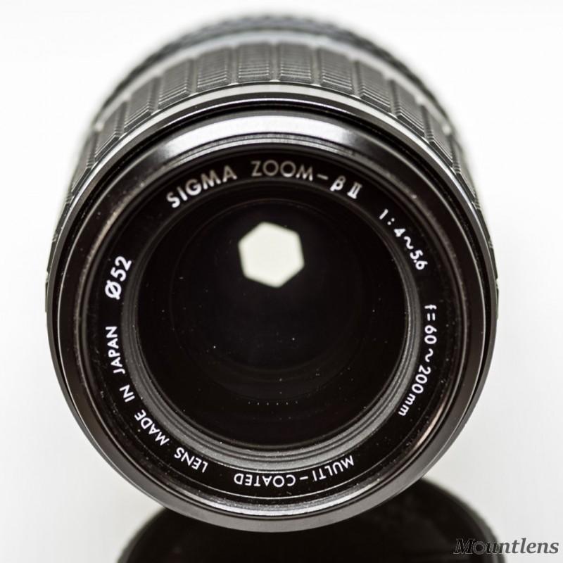 Sigma Zoom Beta II 60-200mm F4-5.6