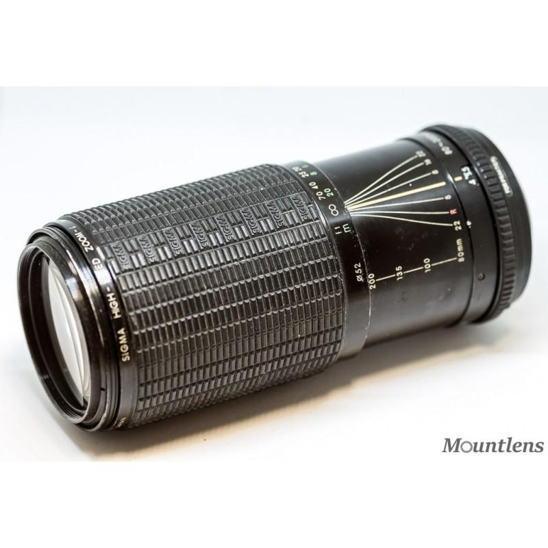 Sigma Zoom L 80-200mm F3.5-4.5