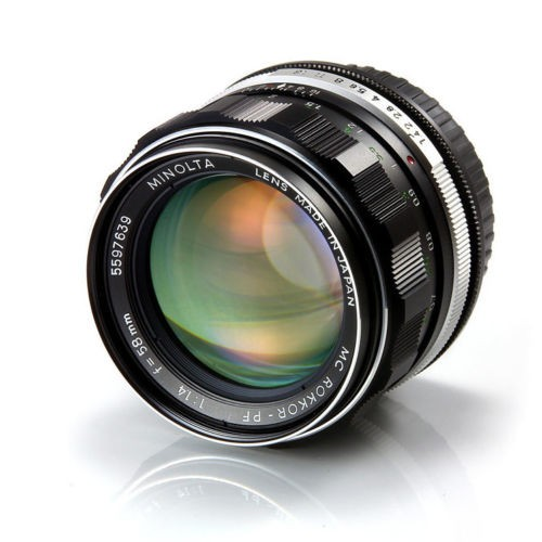 Minolta Rokkor PF 58mm 1.4
