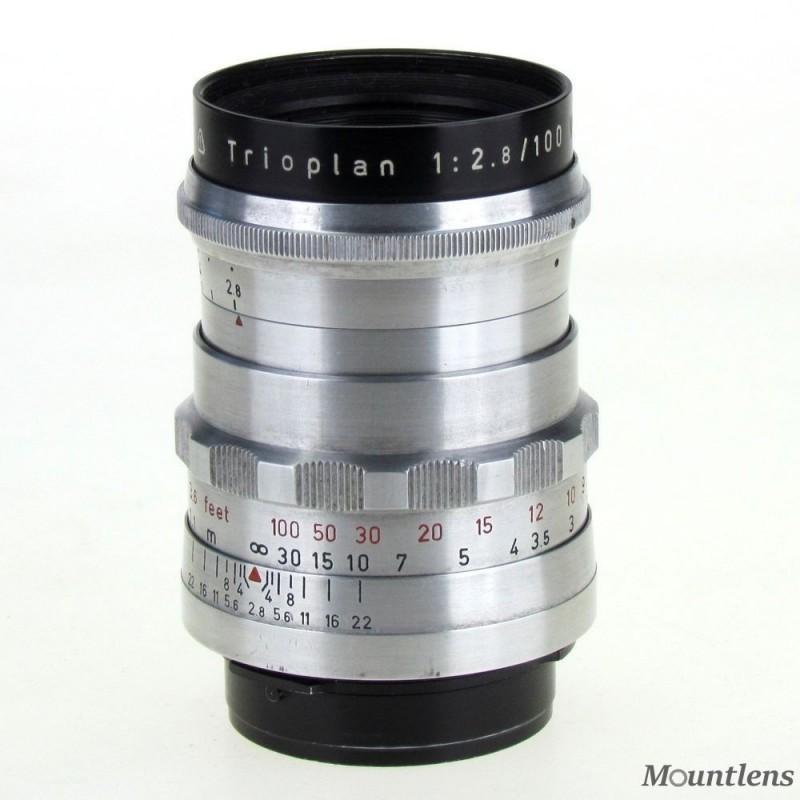 Meyer Optik Trioplan 100mm F2.8 V